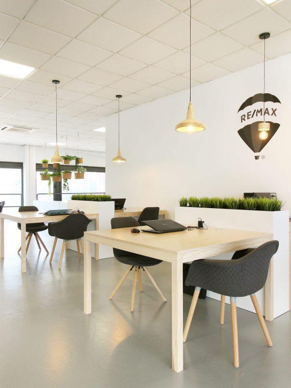 Os escritórios da Remax